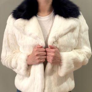 *NWOT* Holt Renfrew Rabbit Fur Jacket